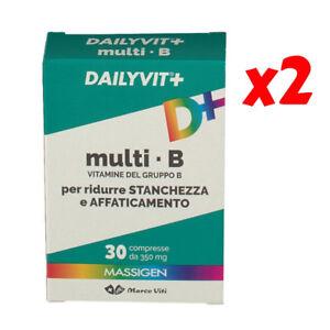 2x-MASSIGEN-DAILYVIT-multi-B-vitamine-del-gruppo-B-stanchezza-fatica-2x-30-cpr