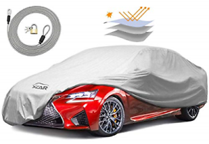 XCAR Breathable Dust Prevention Car Cover-Fits Sedan Hatchback Up to 200 Inch...