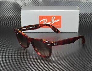 RAY-BAN-RB2140-1275A5-Wayfarer-Red-Orange-Havana-Pink-Brn-50mm-Unisex-Sunglasses