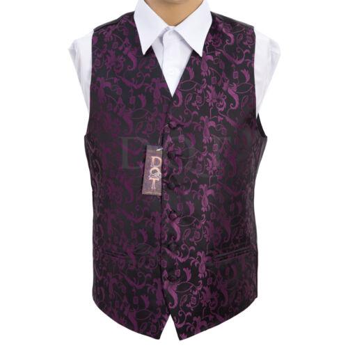 "Size 22/"" 50/"" Boy/'s /& Men/'s Floral Passion Wedding Groom Wedding Waistcoat"