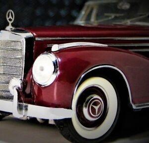 Mercedes-Benz-Built-1950s-Vintage-Sport-Car-1-Model-24-25-300-SC-12-Sl-gt-s-cl-e
