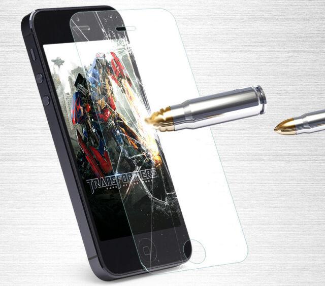 Film de protection en verre trempé Iphone 4 5 6 5s 5c 4s 6s, *2 acheté 1 offert*