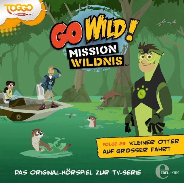 Go Wild!-Mission Wildnis - Go Wild! - Mission Wildnis - Kleiner Otter auf gro...