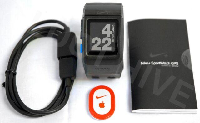 97aaa5477 Nike+ Sport Watch BLUE/Black & SHOE POD TomTom GPS plus running smartwatch  38mm