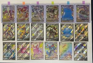 Pokemon SHINING FATES Shiny Vault - (45) Card LOT! VMAX/V/RR/Amazing Rare - NM