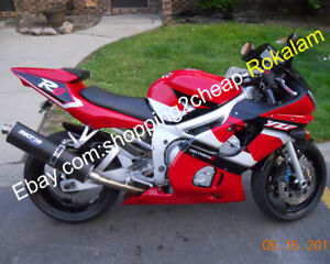 For Yamaha Yzfr6 1998 2002 Yzf600r Yzf R6 98 02 Red White Black Motorcycle Parts Ebay