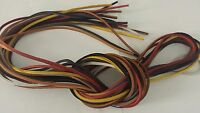 1 Pair 72 Length X 1/8 Width Rawhide Leather Shoe Boot Lace String