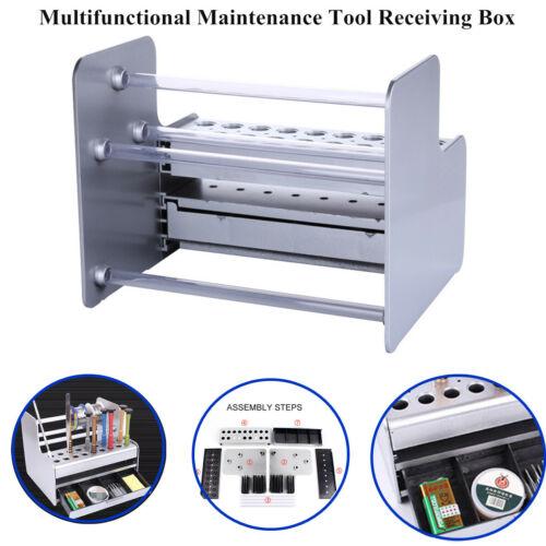 Tool Box Storage Organizer Rack Screwdriver Tweezer Hardware Components Repair