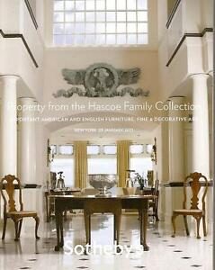 Sotheby S Hascoe Collection Furniture Antiques Auction Catalog 2011 Ebay