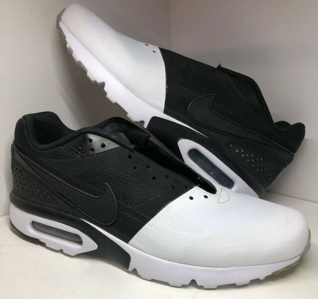 Nike Air Max BW Ultra SE Running Shoes Mens Size 9 Black White 844967 101