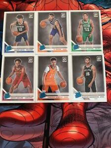 Panini-Donruss-optica-NBA-nominal-Rookies-Lote-Inc-Jaxson-Hayes-pelicanos