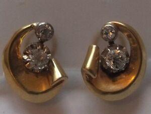 Antique-Cushion-Cut-Diamond-Earrings-18ct-gold-Circa-1930s-Clip-on-Fittings