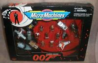 James Bond 007 Micro Machines Set Goldfinger Moonraker The Spy Who Loved Me