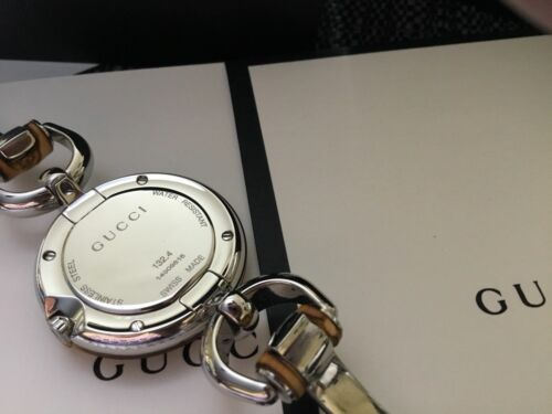 8ebefad06f2 Gucci YA132407 Bamboo Ladies Watch - Boxed for sale online
