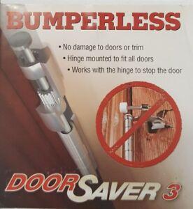 Genial Image Is Loading Bumperless Door Saver 3 Pewter Nickel Silver Satin