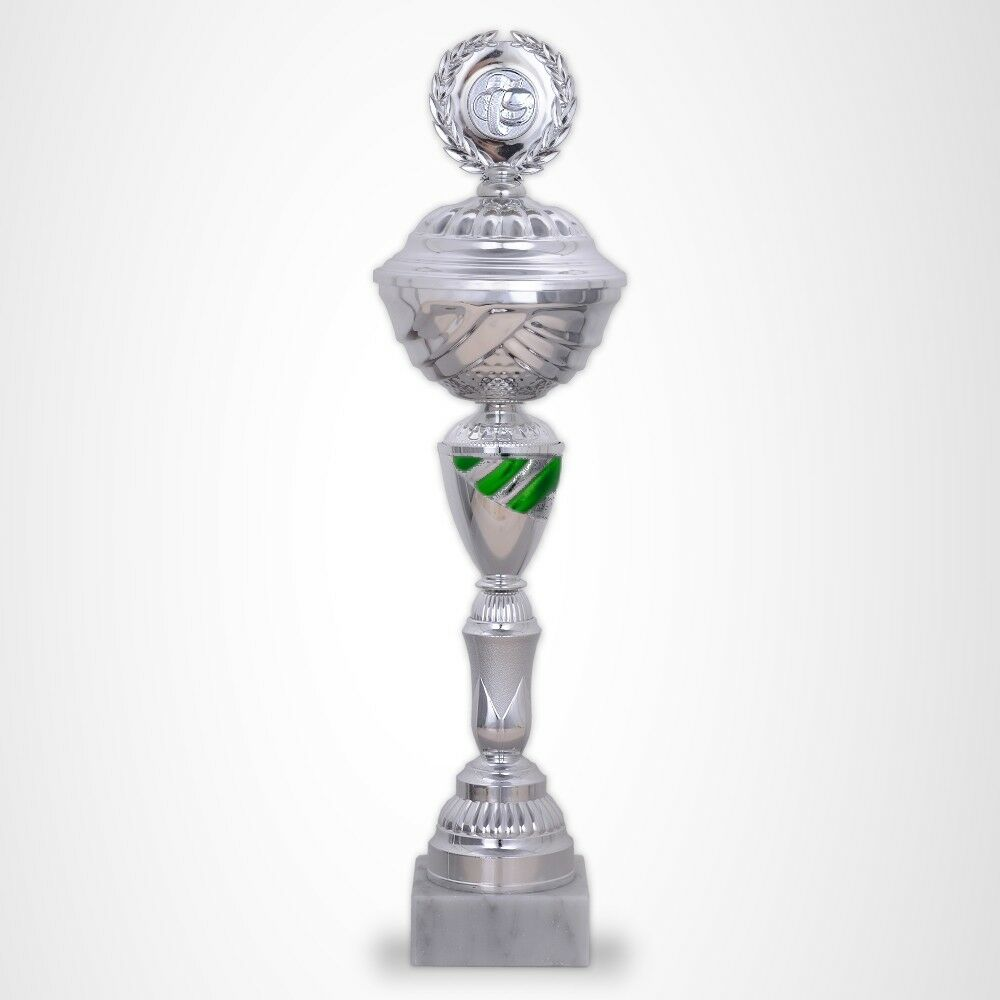 Coupe Série Kansas trophées Grande trophées Kansas avec gravure favorable acheter bleu vert rouge-argent 0574a8