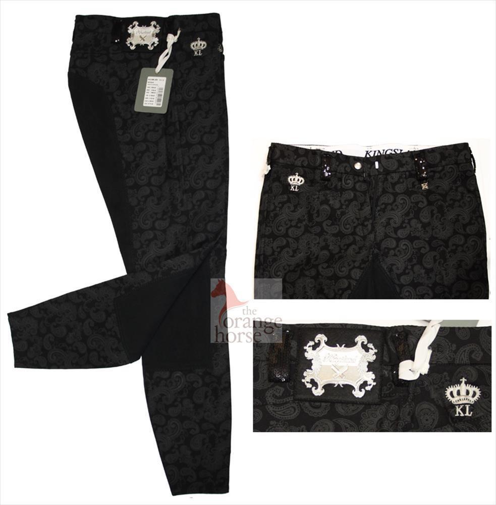 Kingsland Pantalones de Montar damen Ellen Estampado