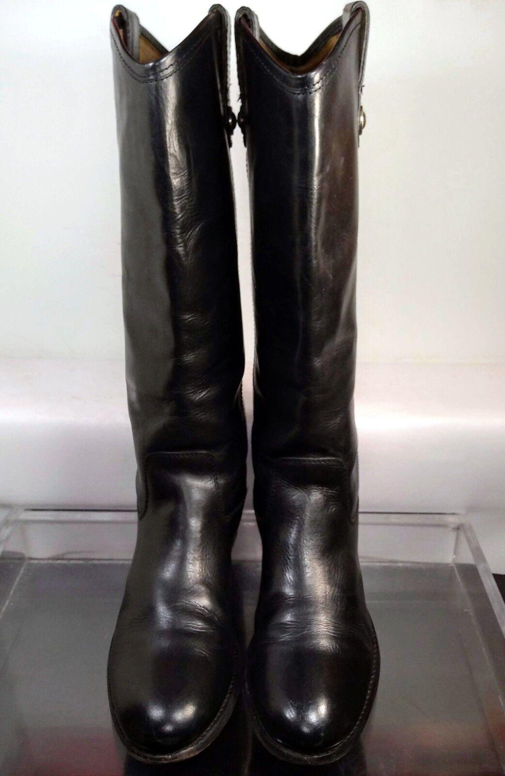 Frye Melissa Button Negro Suave Vintag botas de de de Montar 7.5 EE. UU. hecho En México 3477167  compras de moda online