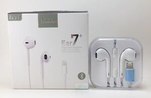 Wired Bluetooth Lighting Earbuds Earpods Headphones Headset For Apple iPhone