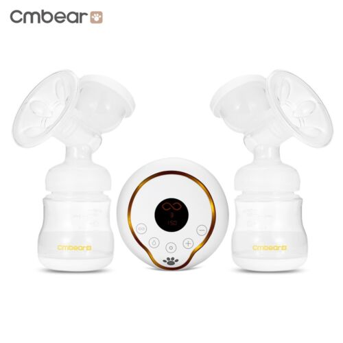 LCD Display PP USB Electric Unilateral Double Breastfeeding Breast Pump