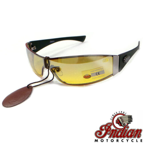 INDIAN Motorcycles Bike /& Car Night Driving Sunglasses /& Glasses Case IN3010