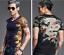 S-6XL Mens Totem Dragon Printed Coat Blouse Top Outwear Nightclub T-shirt Cotton