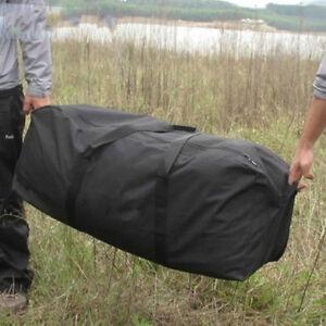 55L-180L Big Capacity Outdoor Travel Duffle Bag Black Driving Oxford ... f057d92a25009