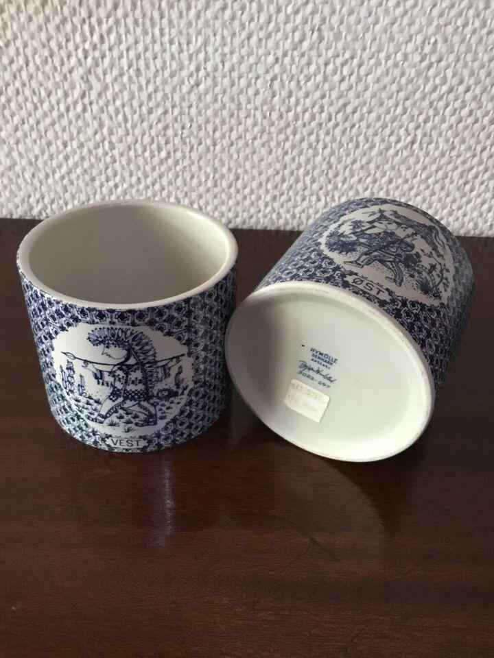 Keramik, Urtepotteskjuler, Bjørn Wiinblad