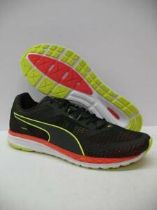 a619ec0d361 PUMA 189081 Speed 500 Ignite Running Training Shoes Sneakers Black ...