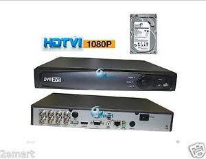 Details about HD-TVI 8 ch channel DVR 1080p Hikvision OEM HDTVI Hybrid  TVI/Analog/IP W 4TB HDD