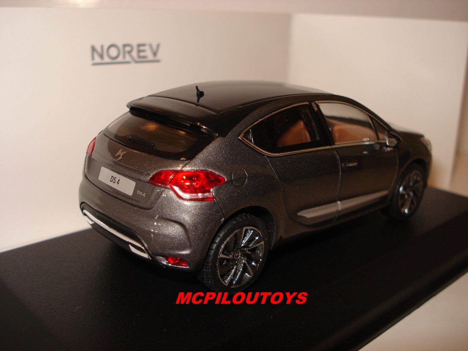 Norev citroen DS 4 Platinum grey grey grey black Dach 2015 au 1 43° 775902