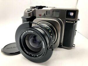 Nr Estado perfeito Mamiya 7 Câmera De Filme Formato Médio + n 65mm f4 L Parasol Do Japão