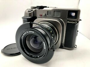 Nr-Estado-perfeito-Mamiya-7-Camera-De-Filme-Formato-Medio-n-65mm-f4-L-Parasol-Do-Japao