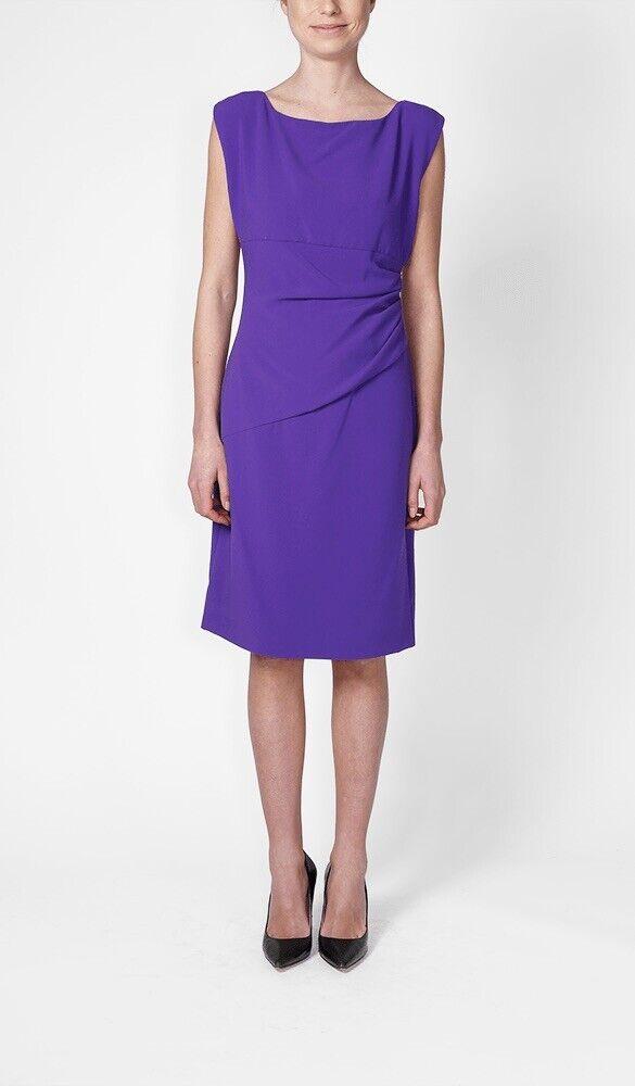 Diane von Furstenberg Jori Purple Purple Purple Haze sheath shift dress knit DVF 10 knit New be37f1