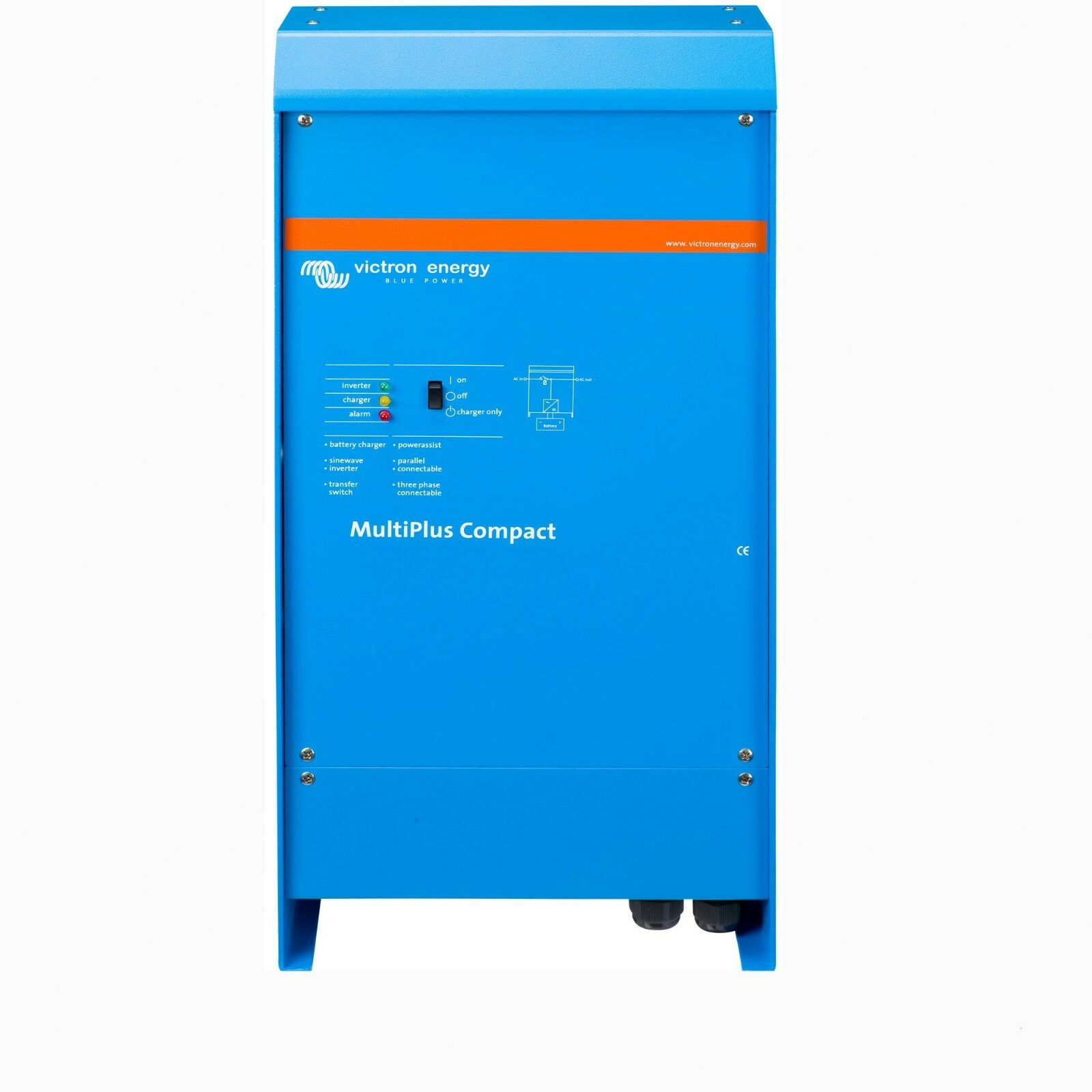 VICTRON MultiPlus C 12 1200 50-16 Ladegerät Wechselrichter InGrüner Charger