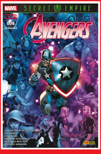 AVENGERS-8-08-Fev-2018-Panini-Marvel-Secret-Empire-IRON-MAN-NEUF