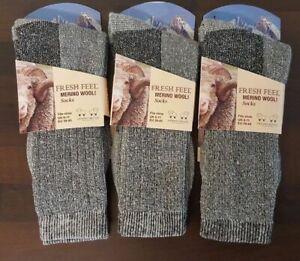 6 Pairs Ladies Women Merino Wool Socks Outdoor Walking Work Boot Thermal Socks