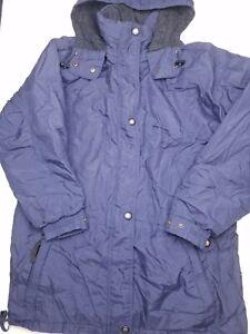 OBERMEYER-Austin-Vintage-SKI-INSULATED-Navy-Blue-JACKET-COAT-Size-Unknown-HU