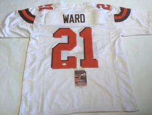 Image is loading Denzel-Ward-Autographed-Cleveland-Browns-White-Jersey-JSA- a11928d78