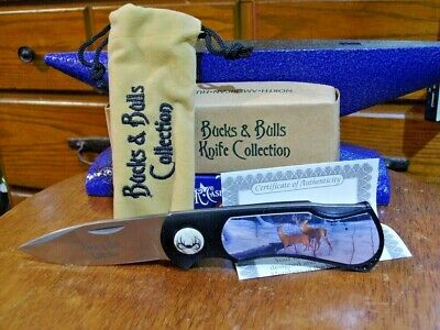 Buck And Doe Pocket Knife Lockback Collector S Edition With Storage Case Ebay