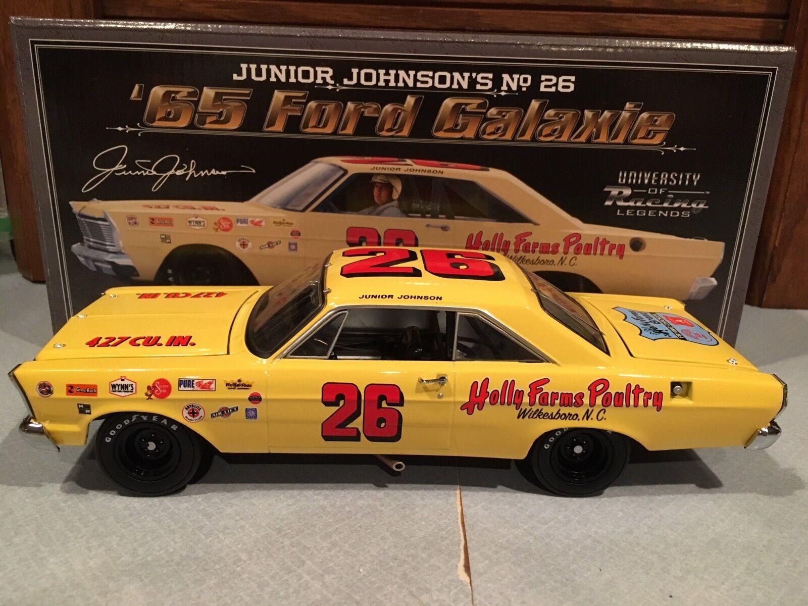 University of Racing 1965 Junior Johnson Holly Farms Ford Galaxie 1 24