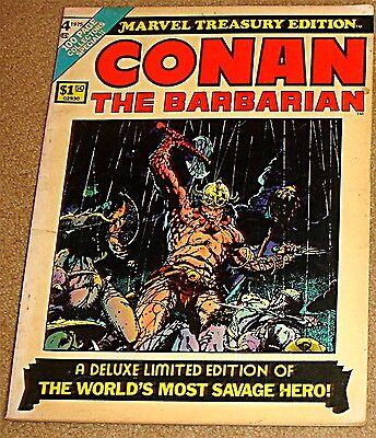 MARVEL TREASURY EDITION 19 CONAN THE BARBARIAN F RARE GIANT ROBERT E HOWARD