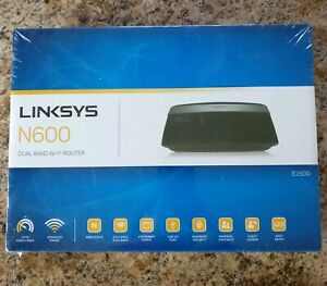 Details about Linksys N600 E2500-NP Dual Band Wireless N 4-Port Wi-Fi  Router NEW ** Sealed **