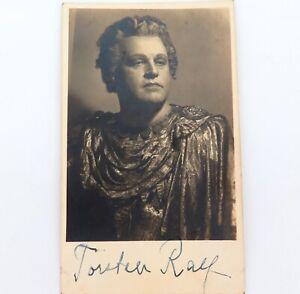 SCARCE-c1930s-SWEDISH-OPERATIC-TENOR-TORSTEN-RALF-HANDSIGNED-PHOTO-LOBBY-CARD