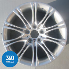 "1 x GENUINE BMW 5 SERIES 18"" MV2 135 FRONT M DOUBLE SPOKE ALLOY WHEEL 8036947"