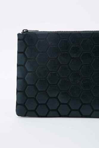 Urban Outfitters Ecote Honeycomb Clutch Bag Brand New Black