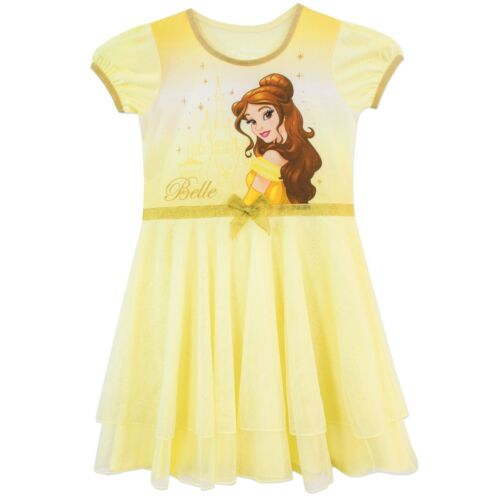 Disney Princess NightdressGirls Beauty and the Beast NightieBelle Pyjama