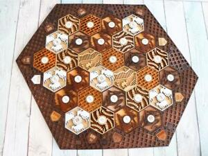 Details About Settlers Of Catan Board 5 6 Players Full Custom Wood Laser Cut