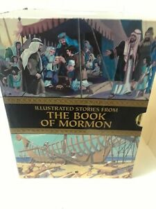 ILLUSTRATED-STORIES-FROM-THE-BOOK-OF-MORMON-GOLD-COVER-COMPLETE-SET