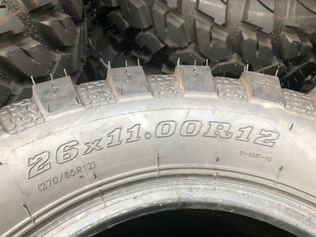 Utv Tires For Sale >> Atv Utv Tires Duro Fronter Radial 26x11x12 For Sale Online Ebay
